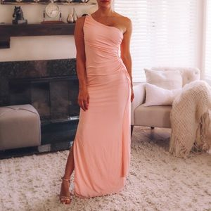 Long One Shoulder Grecia Gown